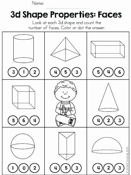 3d Shapes Worksheet Kindergarten Properties Of 3d Shapes Worksheets Slaterengineering In 2020 Shapes Worksheet Kindergarten Shapes Worksheets 3d Shapes Worksheets