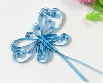 Make a beautiful Quilled Butterfly as a card for a special person. Quilling makes beautiful designs and starting with these easy projects opens the door t