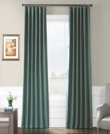 Exclusive Fabrics Furnishings Bellino Blackout 50 X 96 Curtain