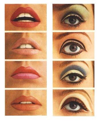 L Evolution Du Maquillage 50s 60s 70s 80s 90s Makeup