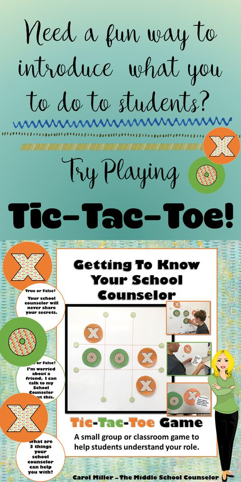 A fun, interactive way for students to get to know their school counselor!