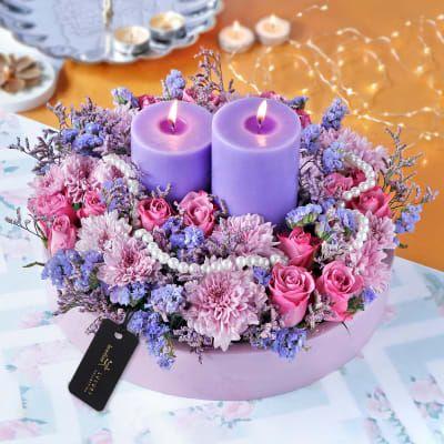 Lavender Lights Diwali Gift Hamper In 2020 Diwali Gifts Diwali Gift Hampers Gift Hampers