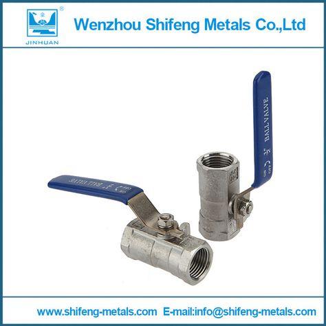 1 2 Threaded Npt 316 Stainless Steel Full Port Ball Valve Vinyl Handle 316 Stainless Steel Steel Stainless Steel