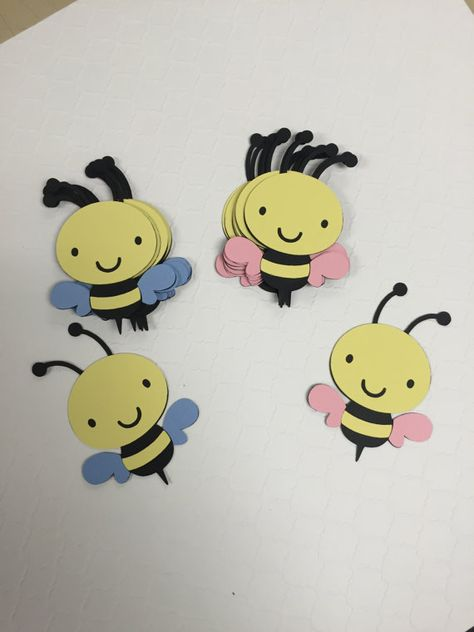 What will it Bee Bee Gender Reveal Baby by KikiDesignsCreations