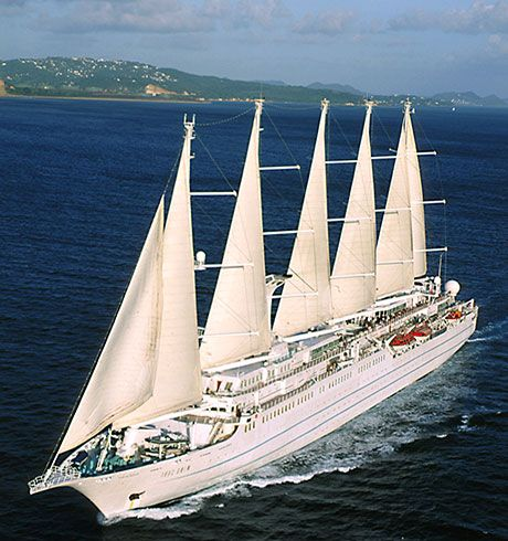 Wind Song Cruise Understated And Elegant Watched Dolphins In - Windsong cruise ship