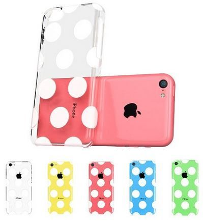 sale retailer 4e637 873c2 Hard Clear Back Cover Snap on Case for iPhone 5C just $9.99 shipped ...