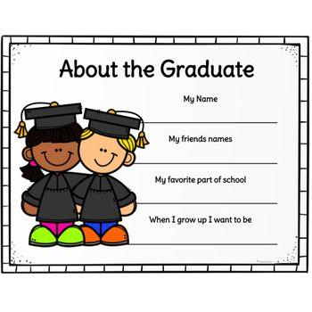 Graduation Diploma Certificates For Preschool And Kindergarten Graduation Preschool Graduation Kindergarten Graduation Preschool Graduation Theme Pre k graduation worksheets