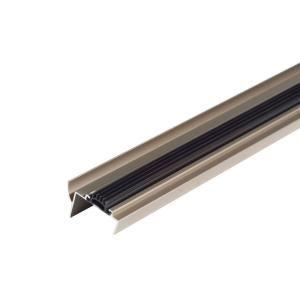 M D Building Products 1 3 4 In X 36 In Mill Vinyl Weatherstrip Door Bottom 68593 Door Weather Stripping Entry Doors Home Depot