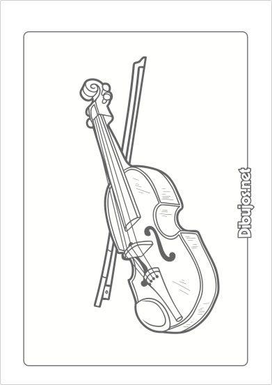 10 Dibujos De Instrumentos Musicales Para Imprimir Y Colorear Dibujos Net Peace Gesture Bullet Journal Peace