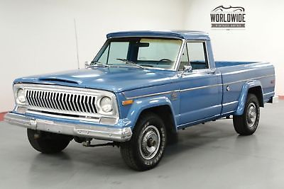 1975 Jeep J10 Gladiator Pickup Truck V8 4x4 Ps Pb Collector Old 1970 S Trucks For Sale Vintage Classic Jeep Pickup For Sale Jeep Gladiator For Sale Trucks