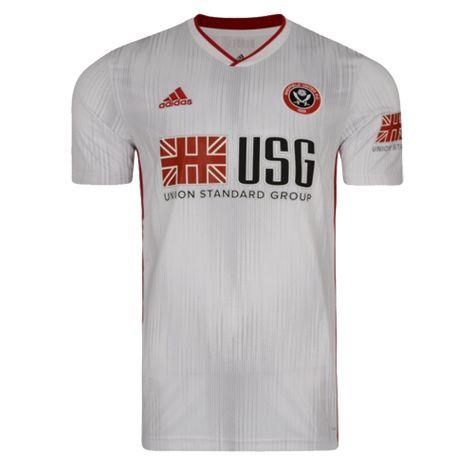 19/20 Sheffield United Away White Soccer Jerseys Shirt