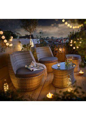 Mobilier de balcon Grace (Ens. 5 pces.), bpc living | Agencement ...