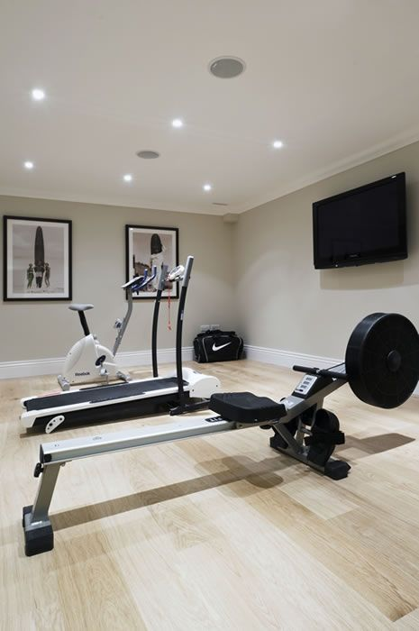 Average Cost To Convert Garage Into Living Space Garageremodeling Gym Room At Home Workout Room Home Home Gym Basement