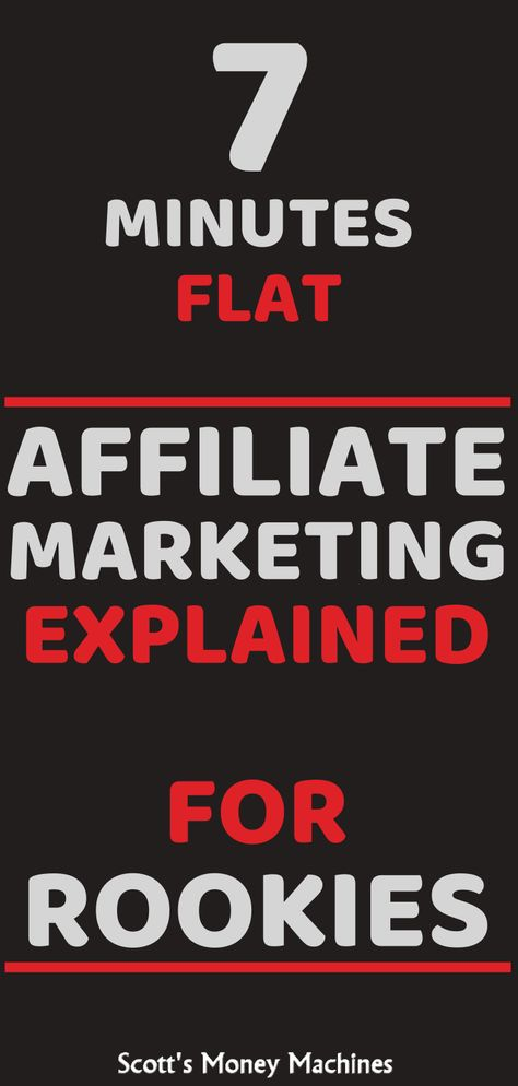 Affiliate Marketing Fully Explained in 7 Minutes Flat!