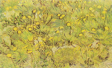 Fiori Gialli Nel Prato.Vincent Van Gogh Prato Con Fiori Gialli Nel 2019 Arte Di Van