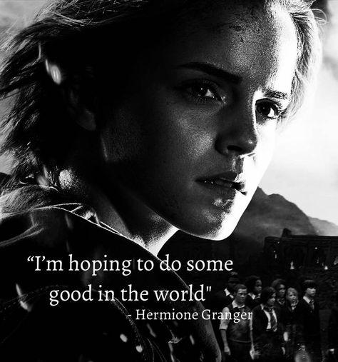 Hermione Granger Quote by ClarkArts24 on DeviantArt