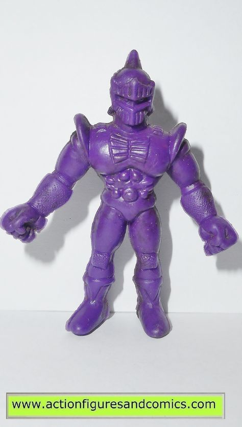 """Men Kinnikuman Purple 2/"""" The Hawkman Figure #050 Mattel 80/'s M.U.S.C.L.E"""