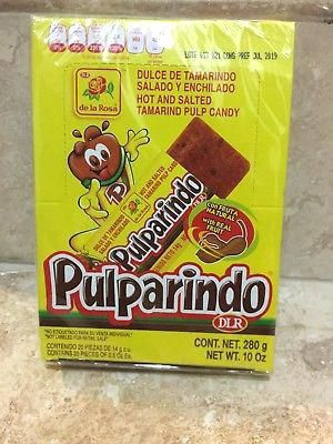 Mexican Candy Box Candy Pieces Tamarind And Chili Flavor Mexican