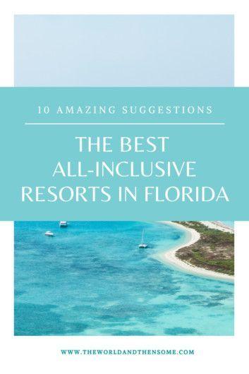 Honeymoon Destinations All Inclusive, Florida Honeymoon, Florida Resorts, Florida Vacation, Vacation Trips, Vacation Spots, Vacation Ideas, Best All Inclusive Vacations, Family Vacations
