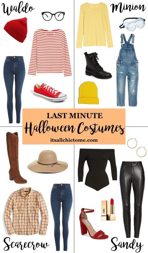 Last Minute Halloween Costumes Last minute easy Halloween costume ideas The post Last Minute Halloween Costumes & Karneval appeared first on Halloween costumes .