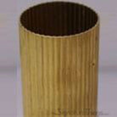 Reeded Brass Tubing 12 Ft Length Brass Curtain Rods Curtain