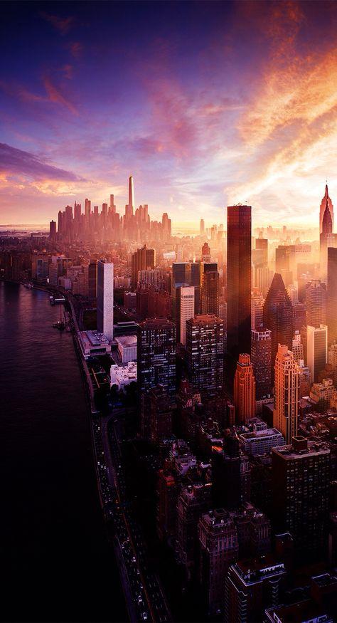 New York City Iphone Wallpaper Thanh Phố New York Chụp
