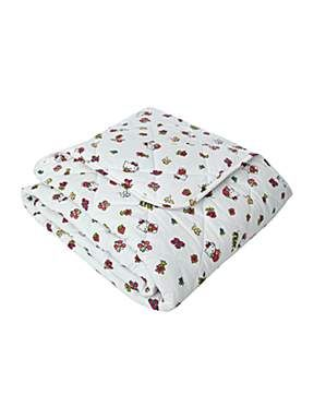 Strawberry fields bed throw