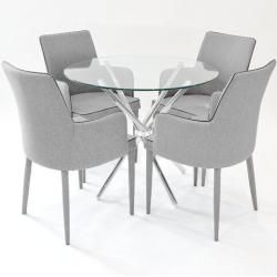 Essgruppen Tischgruppen Metall Esstisch Esstisch Und Esstisch Glas