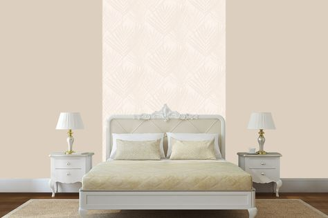 Pittura Camera Da Letto Beige : Kit decorativo zen gold misura small carta da parati e pittura