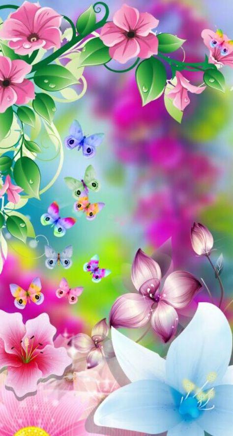 La esencia del ser....mariposas ...colibries....