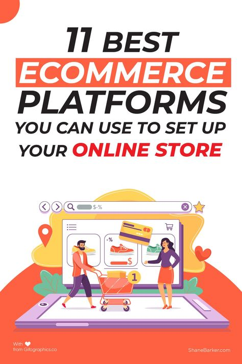 11 Best Ecommerce Platforms to Set Up an Online Store in 2021