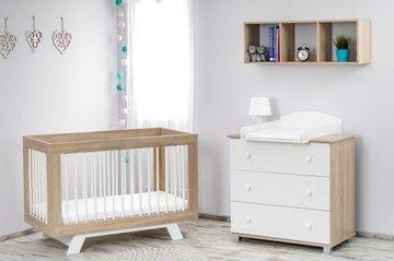 Baby Raj łóżeczko Dziecięce Laura Materac Kokos Dziecko