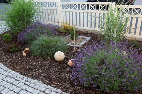 Vorgarten Kies Interior Design Pinterest Gardens, Garden - gartengestaltungsideen mit kies