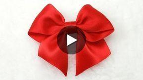 Make Simple Easy Bow Diy Ribbon Hair Bow Tutorial Bow 3 Com