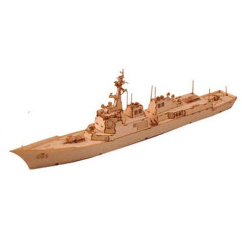 Wooden Model Kits Korea Warship Series-1/700 Guided Missile Destroyer