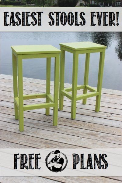Wood Profit Woodworking These Stools Are An Awesome Build