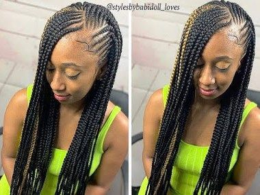 Latest Black Braided Hairstyles 2021 Best Braided Hairstyles 2021 In 2020 Cool Braid Hairstyles Unique Braids Latest Braided Hairstyles