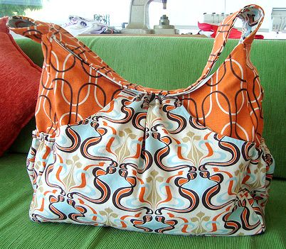 Sewing pattern for DIY diaper bag... Heatherbailey.com has really ...