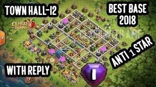 Clash Of Clans -TH 12 Legendary Best Defensive Base 2018