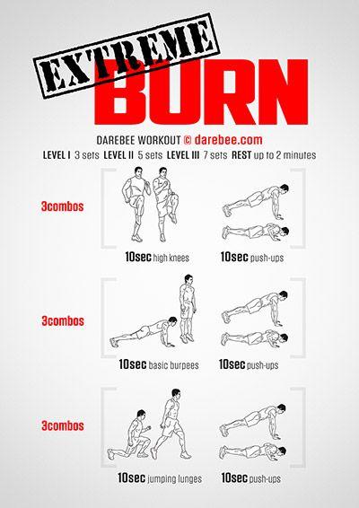 fat burn darebee)