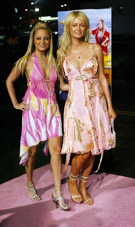 And Paris and Nicole dressed like, well. Paris and Nicole.