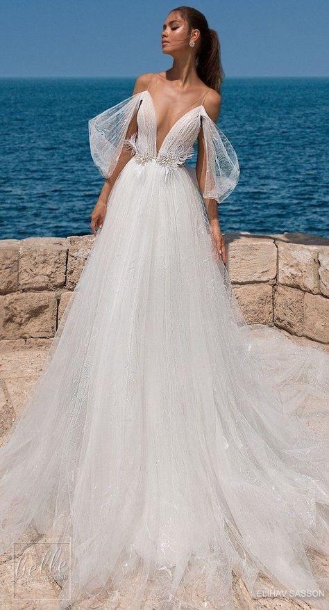 Princess Ball Gown Wedding Dress - Elihav Sasson #Wedding #Dresses #Gowns #WeddingDress #WeddingGown #Casamento #VestidoDeNoiva