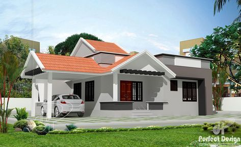 This Elevated 3 Bedroom With Roof Deck Is 130 Square Meters In Total Floor Area Not Including Philippines House Design Bungalow House Design Roof Architecture