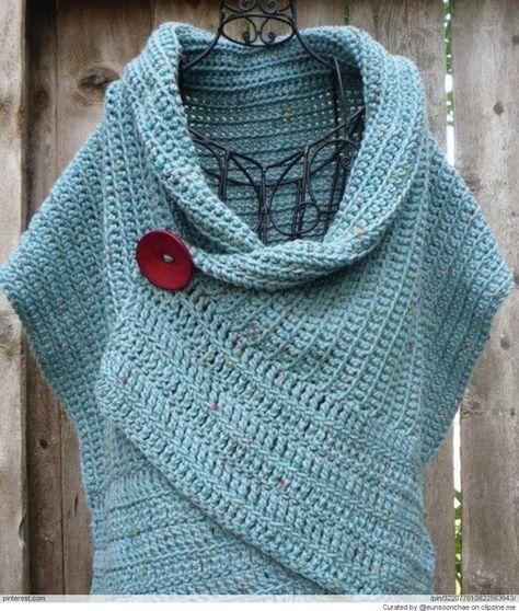 Crochet Patterns   Crochet Shawls,Ponchos, Capes, Capelets, Cloaks ...