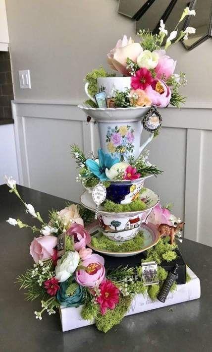 Photo Gallery Of The Vintage Garden Tea Party Ideas Fiestas En
