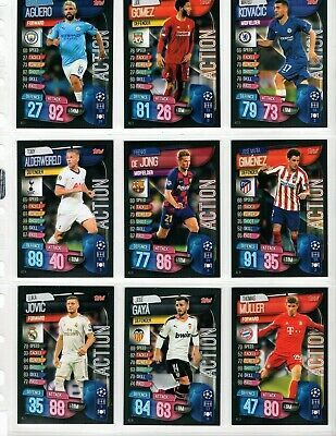 Sponsored Topps Match Attax Extra 2020 Set Of 23 In Game Action Cards In 2020 Match Attax Action Cards Soccer Cards