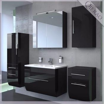 Bathroom High Gloss Furniture In 2020 Bathroom Freestanding High Gloss Furniture Fitted Bathroom Furniture