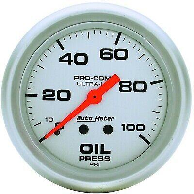 Sponsored Ebay 4421 Autometer Oil Pressure Gauge New Gauges Fuel Pressure Gauge Oil Pressure