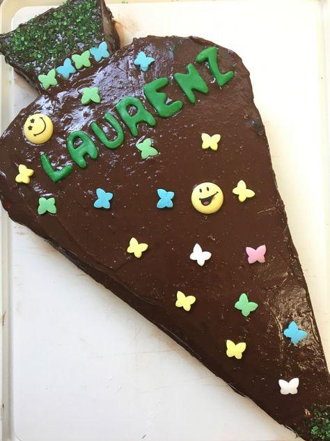 Zuckertuten Kuchen Zur Einschulung Schultute Backen Fur Einsteiger Motivtorte Schultute August 2020 Kuchen Einschulung Torte Einschulung Schultute Backen