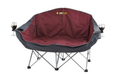 Camping & Outdoors Furniture and Bedding : Moon Chair Double with Arms